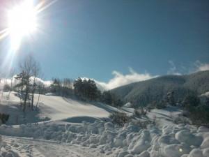 Kışın Köyümüz